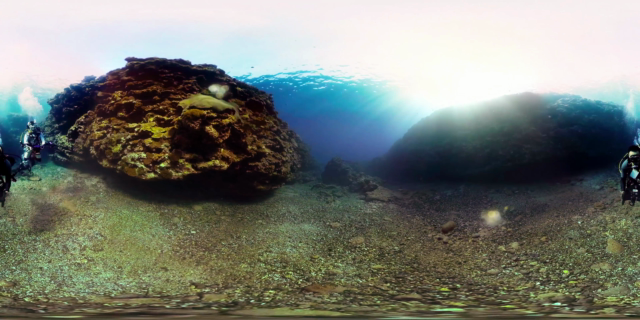 Scuba Diving Short Film in 360° Green Island, Taiwan