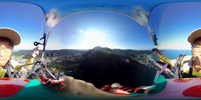 MOMENT | Paragliding in 360VR